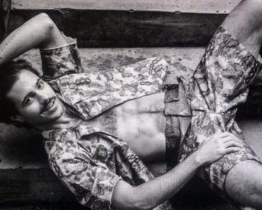 SEXY : Matthieu Charneau covers NVRMIND magazine