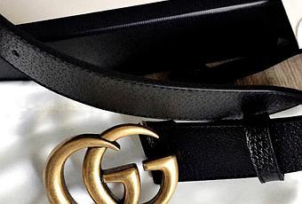 ebae5e067d4 La ceinture Gucci double G