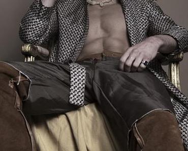 SEXY : Giovanni Bonamy dans Pansy mag
