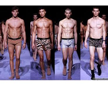 NEW YORK  FASHION WEEK : new undergarment line for TOM FORD