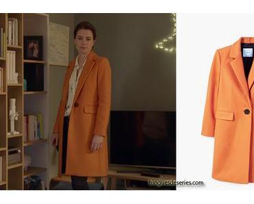 DEMAIN NOUS APPARTIENT : le manteau orange de Rachel dans l'épisode 153