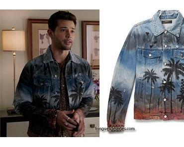 DYNASTY : Sammy Jo wearing a palm trees print jacket in s1ep17
