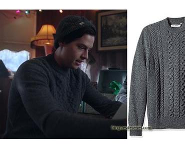 RIVERDALE : Cable Knit Sweater for Jughead in s2ep9