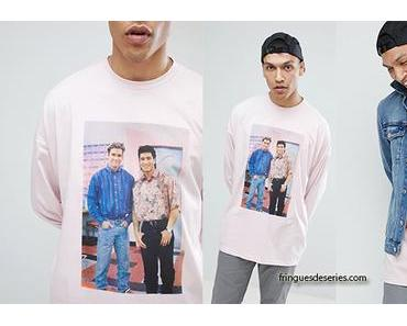 SAVED BY THE BELL : oversize tee with Zack and Slater