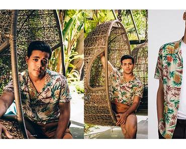 STYLE : Pineapples for Christian Navarro