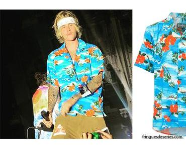 STYLE : Hawaiian shirt for Justin Bieber