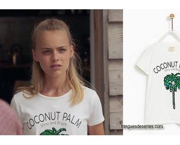 DEMAIN NOUS APPARTIENT : le t-shirt Coconut palm de Judith dans 1×283