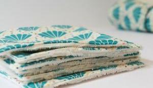 Coudre lingettes lavables {DIY}