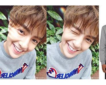 STYLE : Moncler sweatshirt for Darren Chen 官鴻