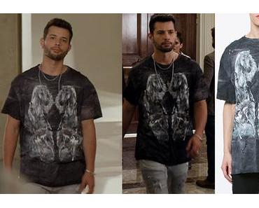 DYNASTY  : Balmain t-shirt for Sammy Jo in s2e01