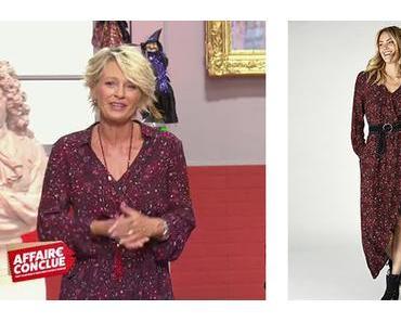 AFFAIRE CONCLUE : la robe rouge de Sophie Davant