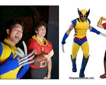 HALLOWEEN : Ross Butler and Noah Centineo