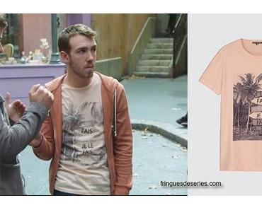 PLUS BELLE LA VIE : le t-shirt de Kevin dans l'épisode 3662