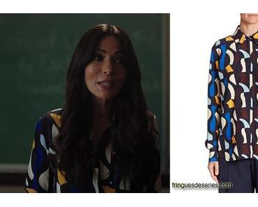 RIVERDALE : Victoria Beckham shirt for Hermione in s3e04