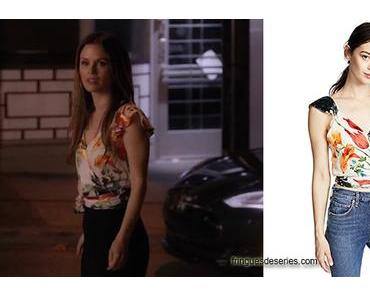TAKE TWO : floral top for Sam in s1ep12