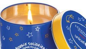 L'Occitane L'Unicef lancent Bougie Solidaire #DécembreSolidaireTLM