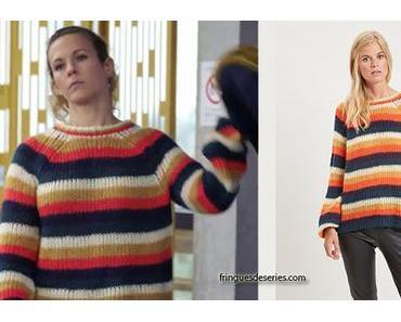 DEMAIN NOUS APPARTIENT : le pull coloré de Lucie dans l'épisode 370