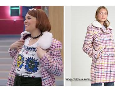 DEMAIN NOUS APPARTIENT : le manteau fantaisie d'Amanda dans l'épisode 363