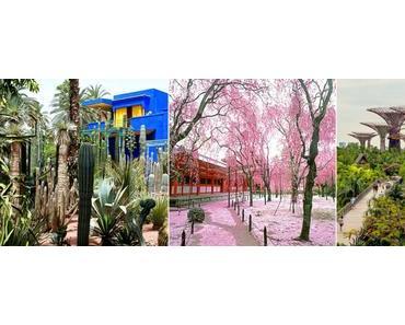 Les jardin botanique que nous rêvons de visiter