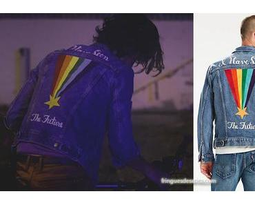 Now Apocalypse : Pride Community trucker jacket for Ulysses in episode 1