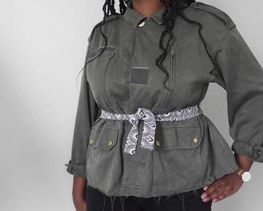 Customiser une veste militaire avec une basque