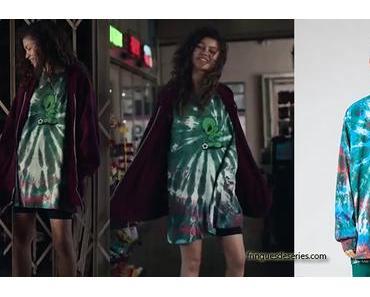 EUPHORIA : alien t-shirt for Rue (Zendaya) in episode 1