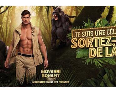 TÉLÉVISION : Giovanni Bonamy dans » «Je suis une célébrité, sortez-moi de là»