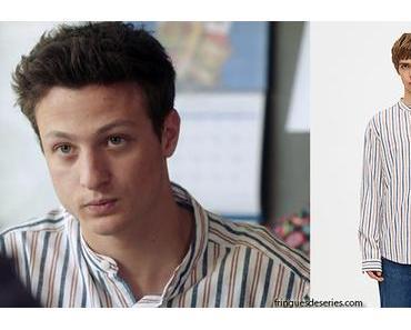 DEMAIN NOUS APPARTIENT : la chemise mao d'Arthur dans l'épisode 502