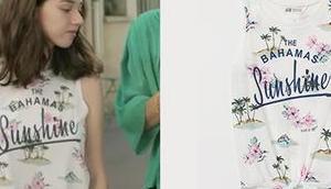 GRAND SOLEIL t-shirt Bahamas Sunshine Camille dans l'épisode