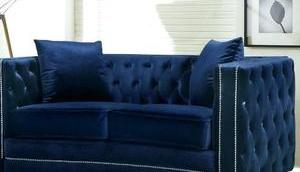 Powder Blue Sofa