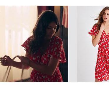 DEMAIN NOUS APPARTIENT : la robe rouge à fleurs de Soraya dans l'épisode 554