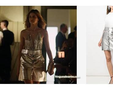 BABY : la jupe métallique de Chiara dans s2e05