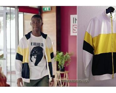 DEMAIN NOUS APPARTIENT : la veste color block de Souleymane