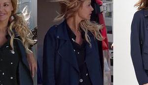 DEMAIN NOUS APPARTIENT veste bleue zippée Chloé dans l'épisode