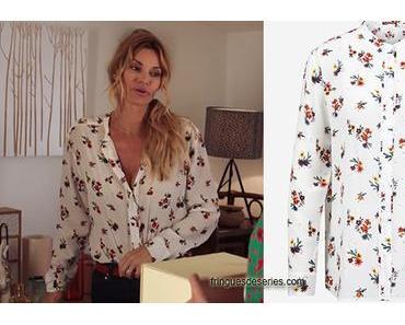 DEMAIN NOUS APPARTIENT : la chemise fleurie de Chloé pour l'anniversaire d'Alex dans l'épisode 595