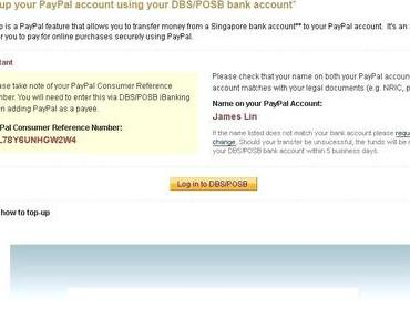 Paypal Bank Transfer Limit