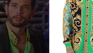 DYNASTY Green silk shirt S3E06