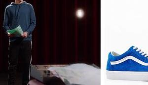 High School Musical Series Ricky's sneakers S1E1