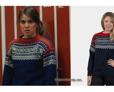 HOME FOR CHRISTMAS : Johanne's Marius sweater in episode 2