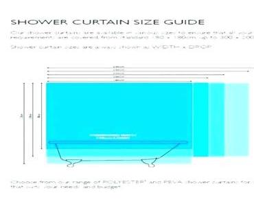 Shower Curtain Dimensions