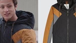 DEMAIN NOUS APPARTIENT veste colorblock d'Arthur dans l'épisode