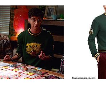 HIGH SCHOOL MUSICAL : THE MUSICAL : THE SERIES : Carlos's tiger print sweatshirt in S1E07