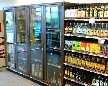 Liquor Display Cabinet
