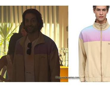 YOU : Henderson purple's track jacket in S2E02
