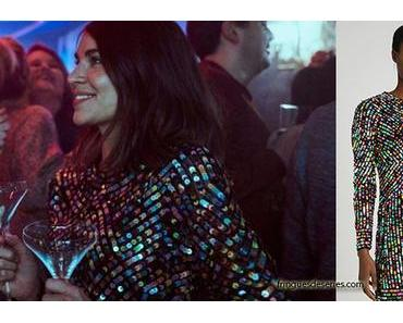 HOME FOR CHRISTMAS :  Johanne's sequin dress in S1E02