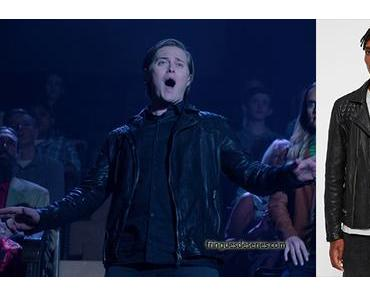 HIGH SCHOOL MUSICAL : THE MUSICAL : THE SERIES : Lucas Grabeel's leather jacket in S1E08