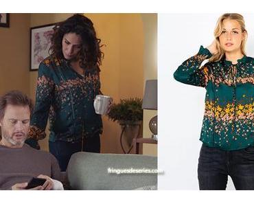 DEMAIN NOUS APPARTIENT : la chemise à fleurs de Leila dans l'épisode 623