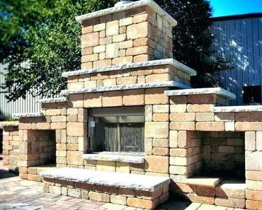 Diy Outdoor Fireplace Plans