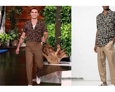 STYLE : KJ Apa's outfit for the Ellen Show