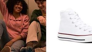 OKAY WITH THIS Dina's white sneakers entire season